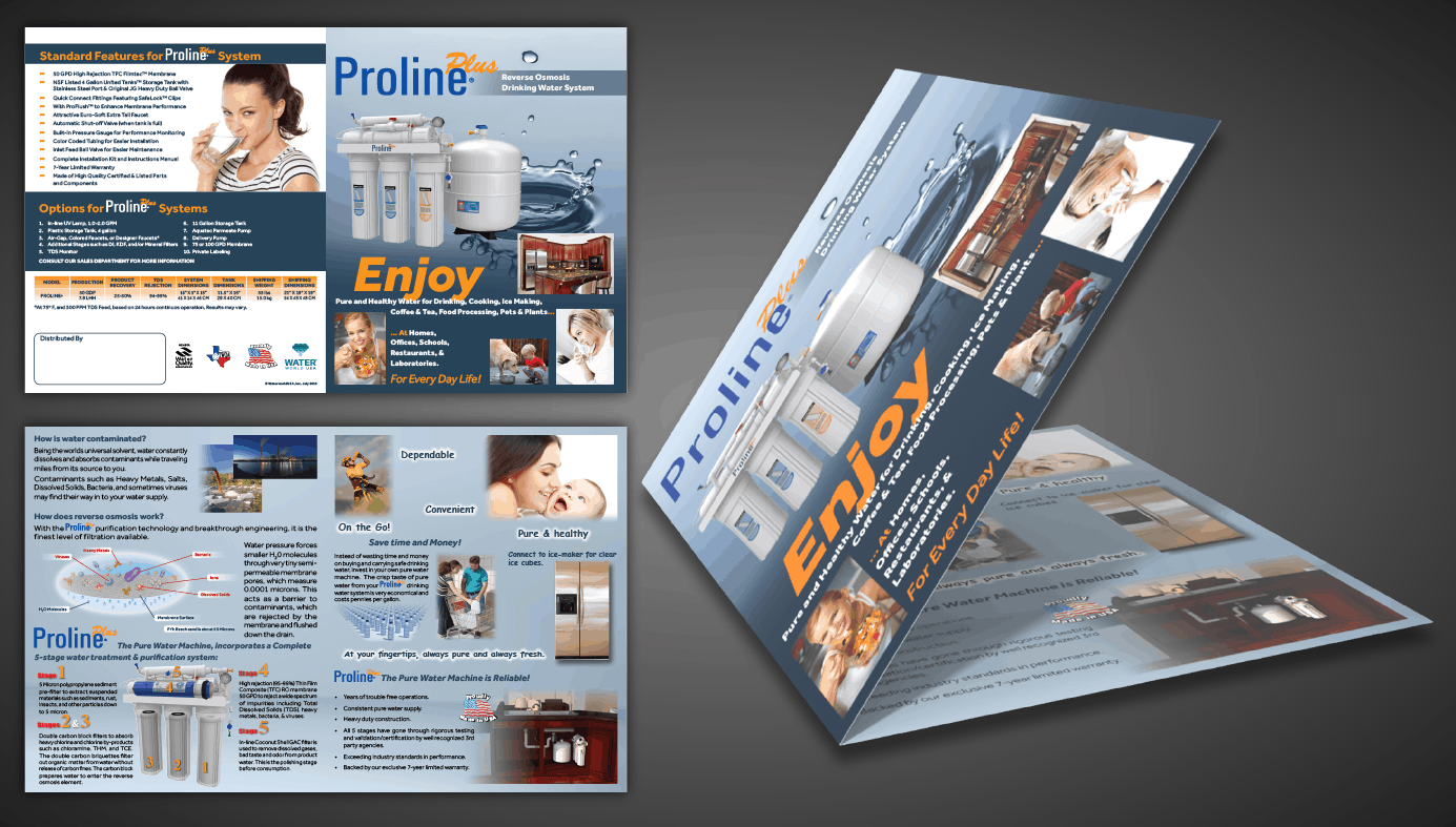 ProlinePlus Brochure Design