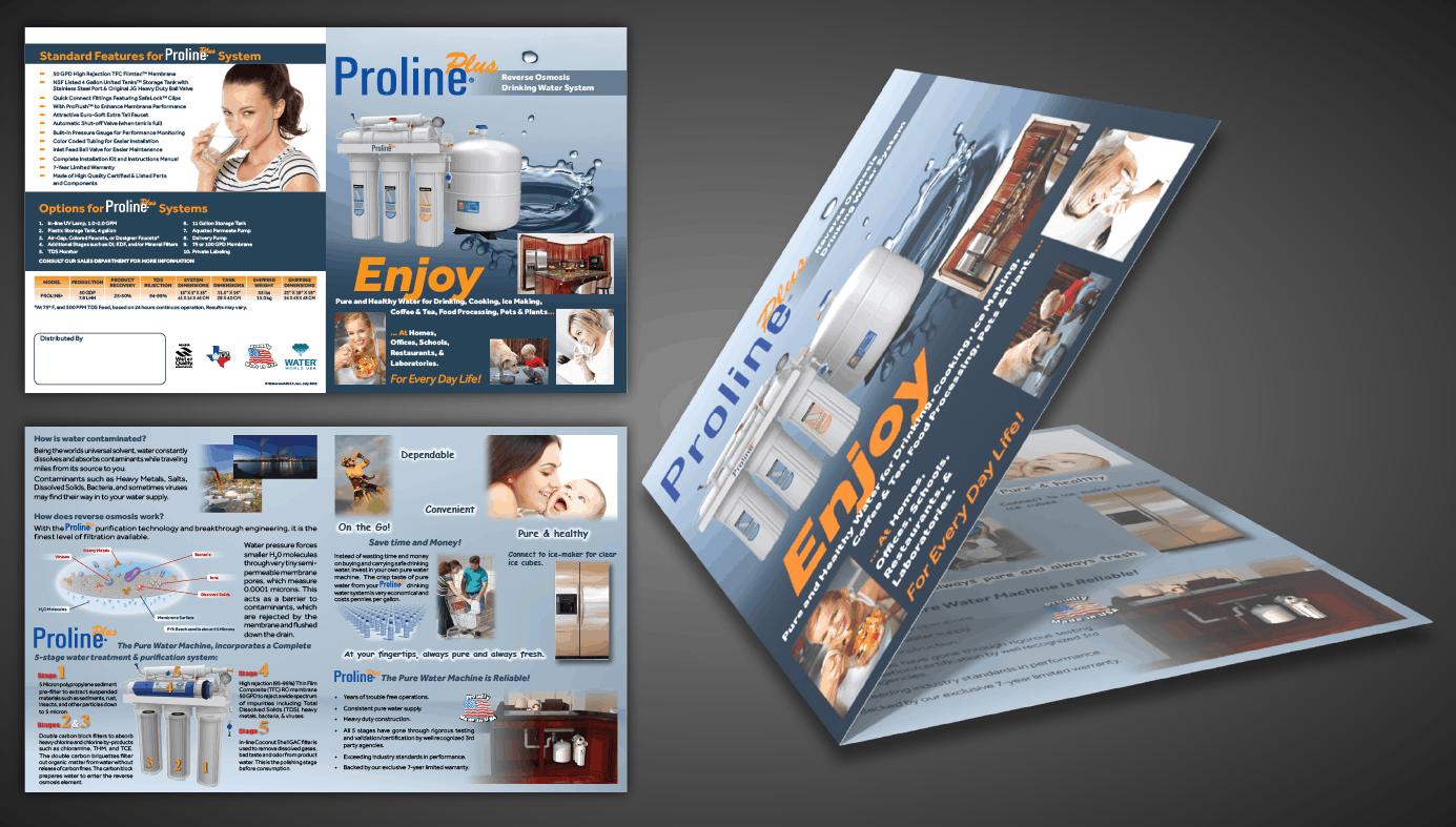 ProlinePlus Brochure Design