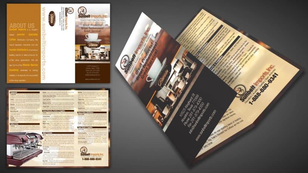 Sunbelt Imports Brochure Design