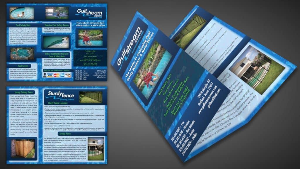 GulfStreem Brochure Design