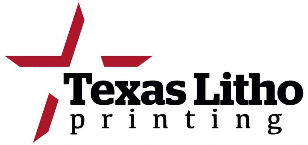 Texas Litho Printing Logo Design