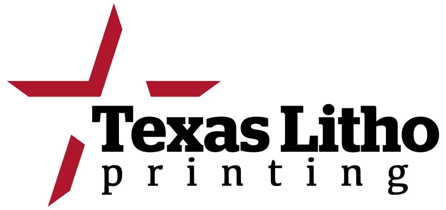 Texas Litho Printing Logo Design