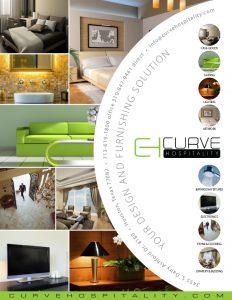 Curve Hospitality ad design