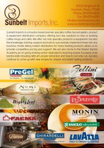 Sunbelt Imports ad design