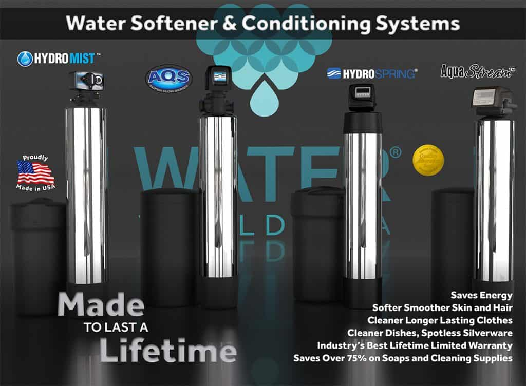 Water Softeners Poster 2017