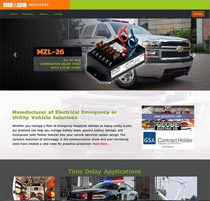 ACDC Website Design